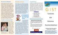 Gastrointestinal Estroma del Tumores - The Life Raft Group