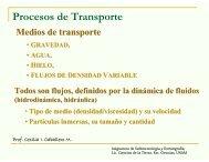 Procesos de Transporte