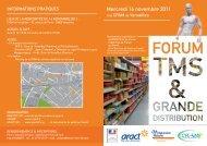 Forum TMS et Grande Distribution - Mercredi 16 novembre 2011 ...