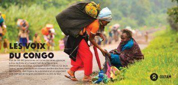 Les voix du Congo - Oxfam International