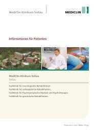 Informationen für Patienten - MediClin