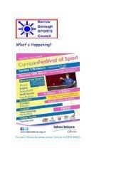 BBSC Newsletter 2013 - Furness Academy