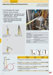 Single-pole Earthing and Discharge Devices - Surgetek