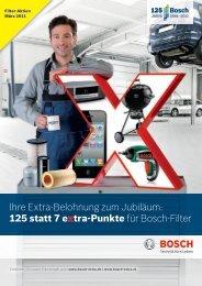 125 statt 7 extra-Punkte für Bosch-Filter - Bosch - Werkstattportal