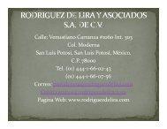 (Microsoft PowerPoint - PRESENTACION BARITA-RDZ LIRA ... - B2B