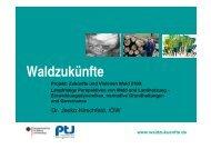"""Vorstellung des Projektes """"Zukünfte und Visionen Wald ... - Ioew.net"""