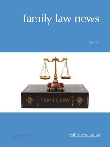 family law news - Withers