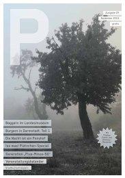 """Veranstaltungskalender Generation """"Plus-Minus-50 ... - P-Magazin"""