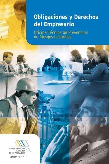 Obligaciones y Derechos del Empresario - Confederación Canaria ...