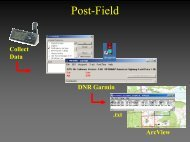 GPS Data Collection, Exporting and Importing Into ArcView