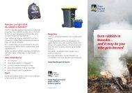 Dunedin outdoor burning guide - Otago Regional Council
