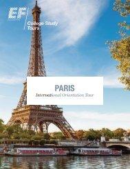 International Orientation Tour: Paris - EF College Study Tours