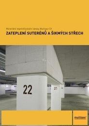 Ytong Multipor - Zateplení suterénů a šikmých střech