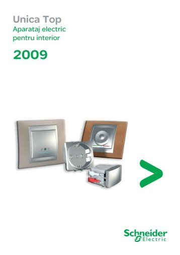 Unica Top catalog - Schneider Electric