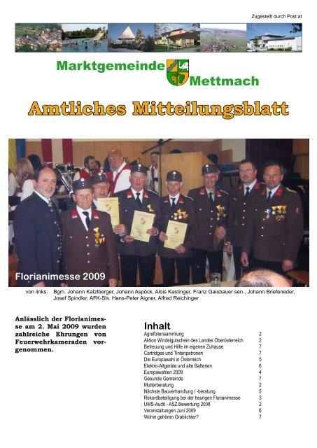 Zentrum - Gemeinde und Service - Jobbrse - Mettmach