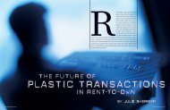 The Future of Plastic Transactions - APRO