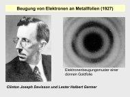 Elektronenkonfiguration in Mehrelektronensystemen