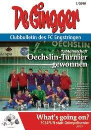 Oechslin-Turnier gewonnen - FC Engstringen