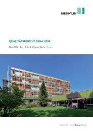 MediClin Fachklinik Rhein/Ruhr, Essen (2009)