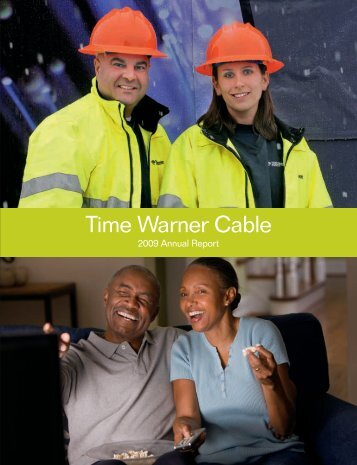 2009 Annual Report (PDF 1.70 MB) - Time Warner Cable