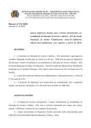 Parecer nº 23/2009 - Prefeitura de Santa Cruz do Sul