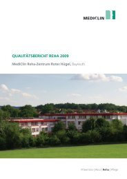 MediClin Reha-Zentrum Roter Hügel, Bayreuth