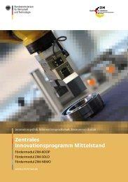Infobroschüre ZIM - IHK Region Stuttgart