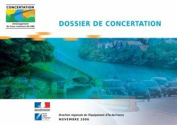 Dossier de Concertation A4-A86 - Les panneaux autoroutiers français