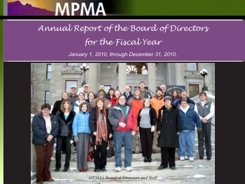 Annual Report of the Board of Directors for the Fiscal Year