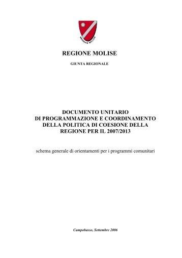 Documento unico di programmazione - Ufficio Europa