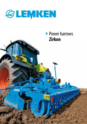 Power harrows Zirkon - LiveUpdater