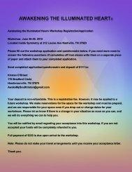 Download Registration Form - Drunvalo Melchizedek