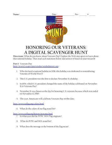 Honoring Our Veterans - A Digital Scavenger Hunt.pdf