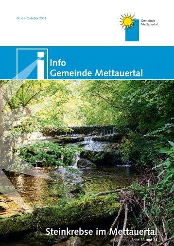 VEREINE Mit - Gemeinde Mettauertal