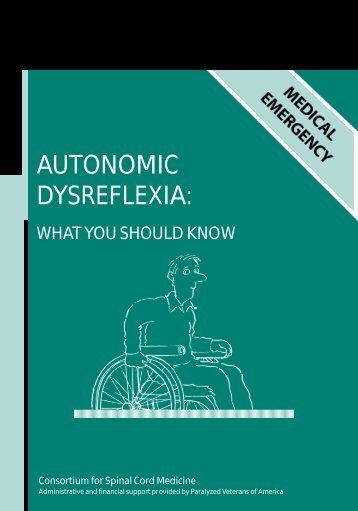 AUTONOMIC DYSREFLEXIA: - Lesionado Medular