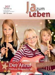 Zeitschrift Nr. 207 (Dez. 2013) - Ja zum Leben Sektion Bern