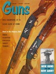 GUNS Magazine April 1963 - Jeffersonian