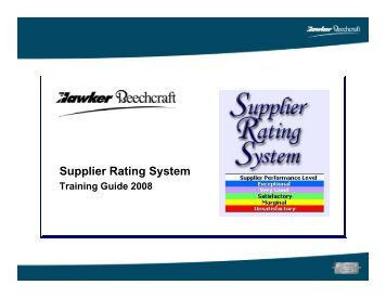 How to give a Quality Score to your Supplier