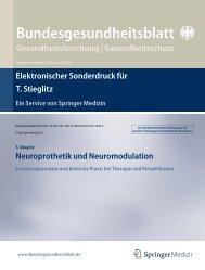 Bundesgesundheitsblatt Gesundheitsforschung   Gesundheitsschutz