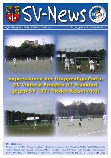 (0 60 33) 92 00 73 Fax (0 60 33) 92 00 80 Mobil - SV 1921 Nieder ...
