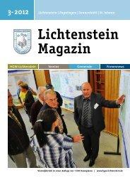 3-2012 Lichtenstein Magazin HGW-Lichtenstein Vereine Gemeinde ...