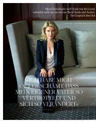 Interview als PDF - Maria Furtwängler