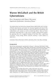 Warren McCulloch & Alan Turing