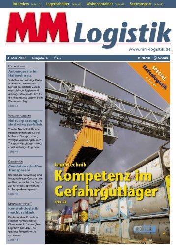 Top Produkt Handel 2009 - MM Logistik - Vogel Business Media