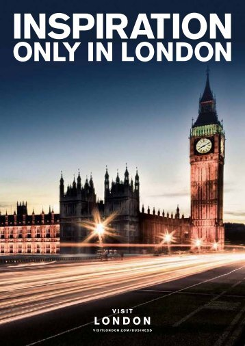 Inspiration Only in London Guide - London & Partners