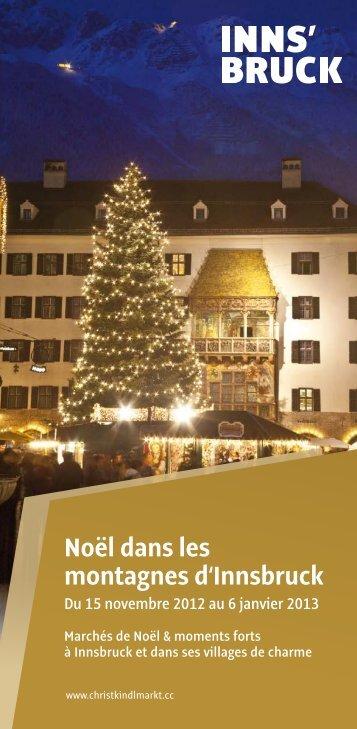 Marchés de Noël - Christkindlmarkt Innsbruck