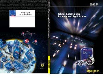 Wheel bearing kits for cars and light trucks - archiwum.moto24.biz