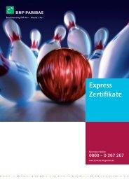 Express Zertifikate - BNP Paribas