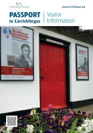 Passport to Carrickfergus - Discover Northern Ireland