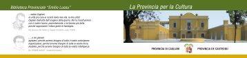 Locandina [file .pdf] - Biblioteca Provinciale di Cagliari